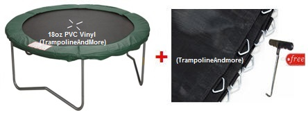 14 Ft Standard Deluxe Trampoline Pad Amp Trampoline Mat