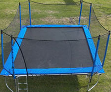 9 X 16 Rectangle Trampoline Combo Round Trampolines
