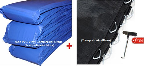 12 Ft Ultimate Trampoline Pad And Trampoline Mat Free